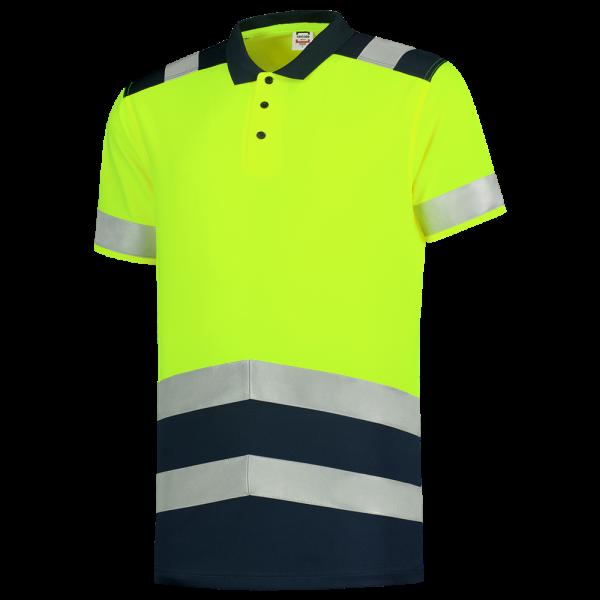 Warnschutz Poloshirt bicolor 203007