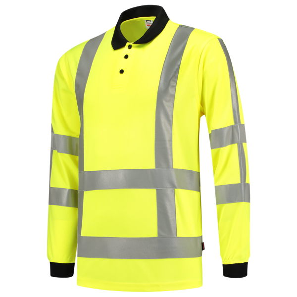 Poloshirt EN ISO 20471 BIRDSEYE, langarm 203005