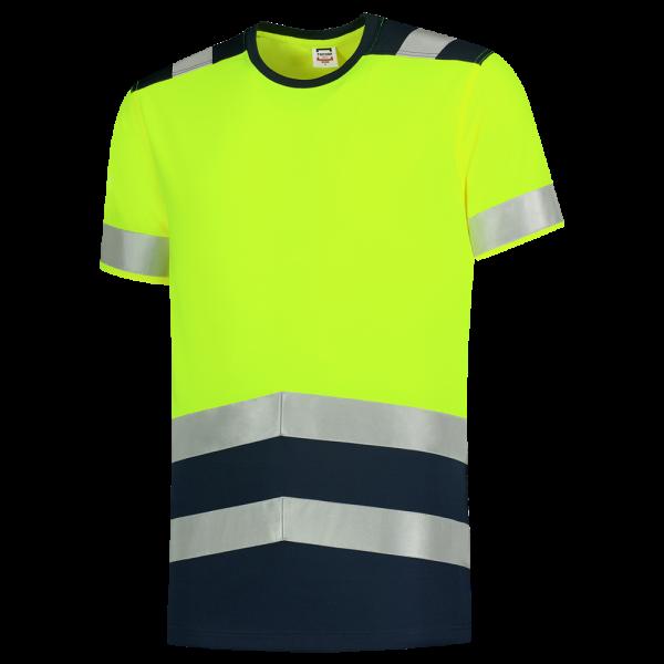 103006 Warnschutz T-Shirt bicolor