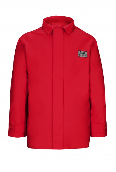Jacke Concept, decontex® Schutzkleidung, rot, flammhemmend, leitfähig