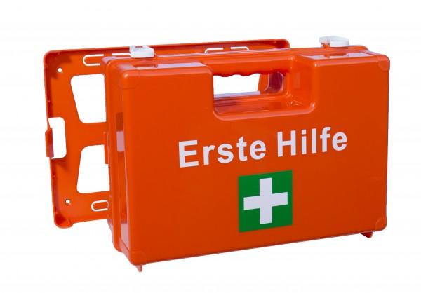 16.004 ABS Verbandkoffer M (orange) inkl. Inhalt DIN 13 157