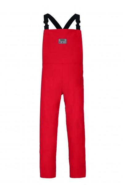 Latzhose Concept, decontex® Schutzkleidung, rot, flammhemmend, leitfähig