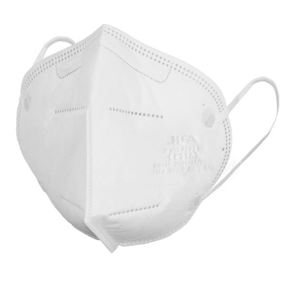 FFP2 NR Atemschutzmaske ohne Ventil nach EN 149:2001 + A1:2009, gefaltet