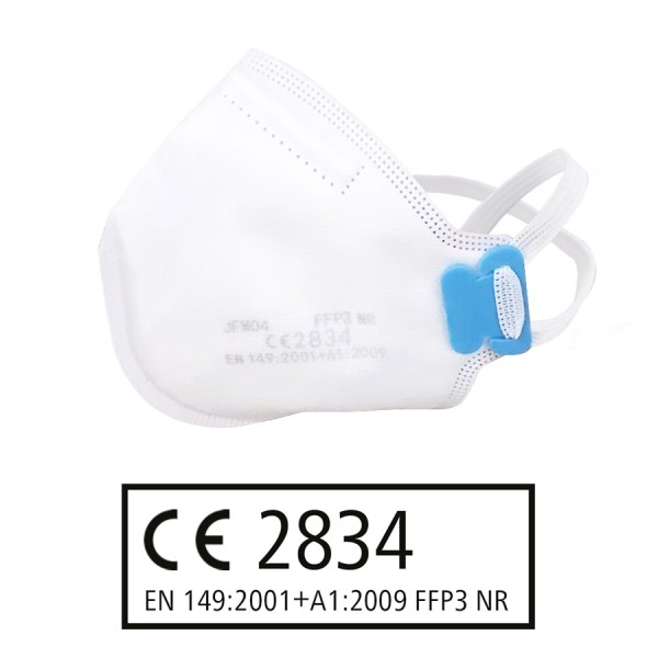 FFP3 NR Atemschutzmaske ohne Ventil nach EN 149:2001 + A1:2009