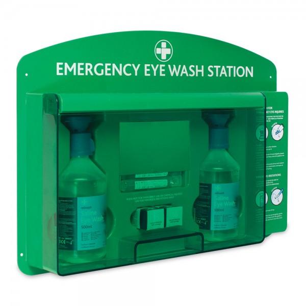 18.035 Augenspül-Station Premium (ABS) inkl. Inhalt