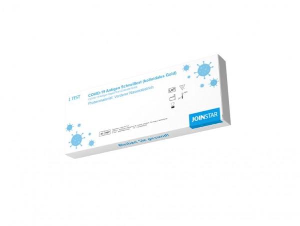 Antigen Rapid Test COVID-19-Antigen-Schnelltest (kollodiales Gold)